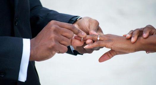 african-american-bride-groom-rgbstock