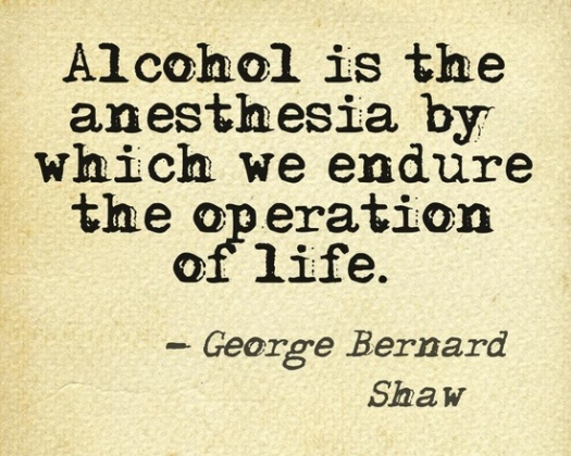 alcohol-is-the-anesthesia