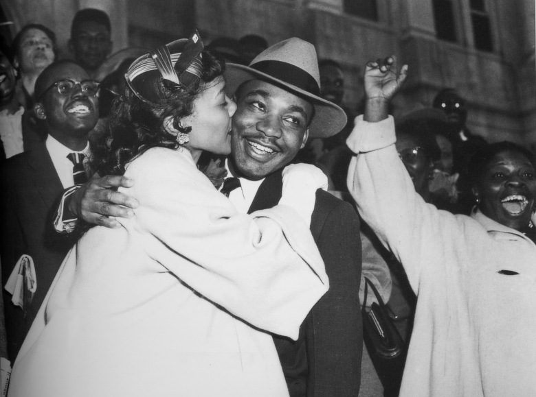 Rev. Dr. Martin Luther King Jr. and his wife Coretta