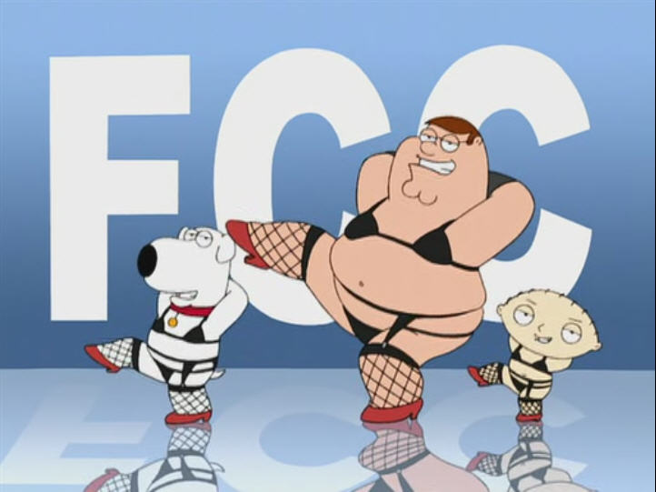 Image from Fox TV's Family Guy