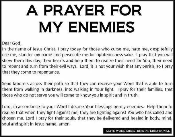 Prayer For My Haters Quotes: A Thomas Point Of View