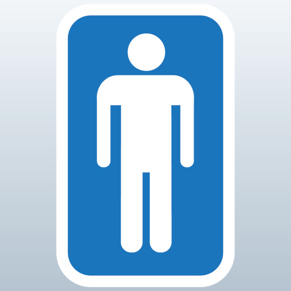 mens bathroom symbol | dance-drumming