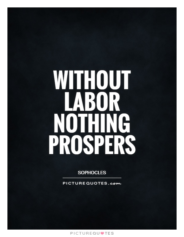 Is the laborer appreciated the way they deserve?