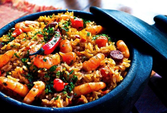 crock pot-slow cooker-jambalaya-food-seafood